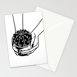 Cactus graphic illustration Stationery Cards