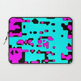 jitter, violet and blue 7 Laptop Sleeve