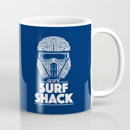 Space Surf Shack Coffee Mug