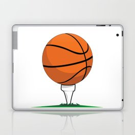 Basketball Tee Laptop & iPad Skin
