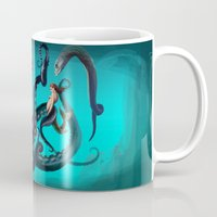 ursula Mugs featuring Ursula by Jehzbell Black