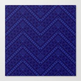 Tipi's (Blue) Canvas Print