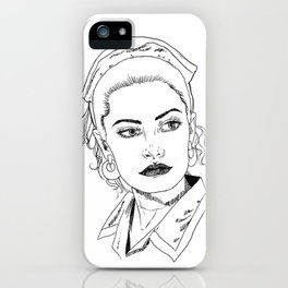 Shelly Johnson iPhone Case