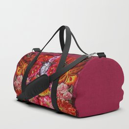 """Rose Huipil Embroidered"" Duffle Bag"