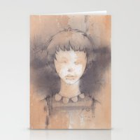 lucy Stationery Cards featuring Lucy by Shiro