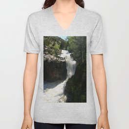 Awesome Shell Falls Unisex V-Neck