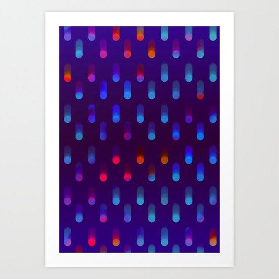 Raindrop 02 Art Print