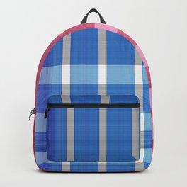 Patriotic Plaid Backpack