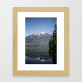 Reflect on Yourself Framed Art Print