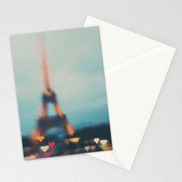 Paris love ...  Stationery Cards