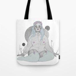 soft grey Tote Bag