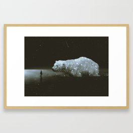 retrouvailles Framed Art Print
