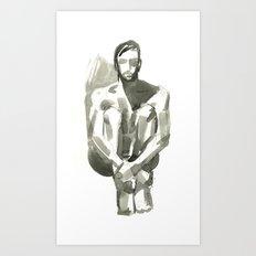 Figure, Seated Art Print