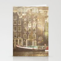 amsterdam Stationery Cards featuring Amsterdam by Cassia Beck