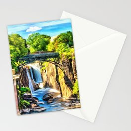 Paterson Great Falls in National Historical Park Stationery Cards