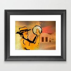 el plenero Framed Art Print