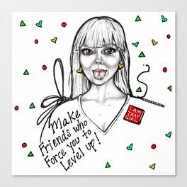 #STUKGIRL MADDY Canvas Print