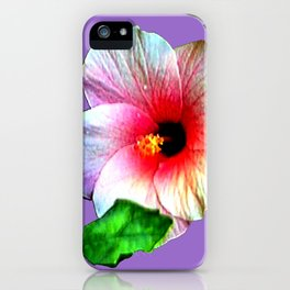 Hybiscus jGibney The MUSEUM Society6 Gifts iPhone Case