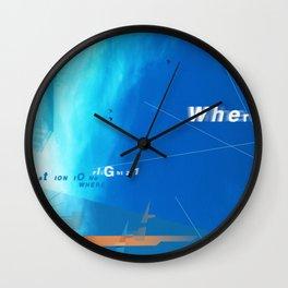 where? Wall Clock
