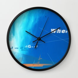 where? Wall Clock