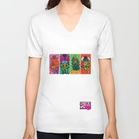 league V-neck T-shirts featuring Da league by suprsunshine