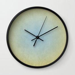 Blue & Gold Wall Clock
