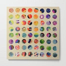 Color Dots 1 Metal Print