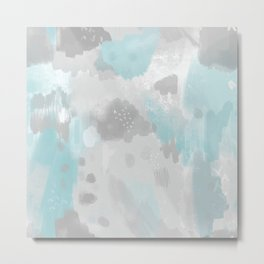 Jessee's Abstract Experiment #003 Metal Print