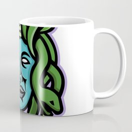 Medusa Greek God Mascot Coffee Mug