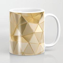geometric-pattern-with-triangular-shapes-gold-colored-metal Coffee Mug