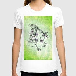 NV: Keer: green T-shirt