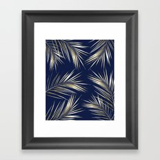 Tropical Leaves 3 Framed Art Print
