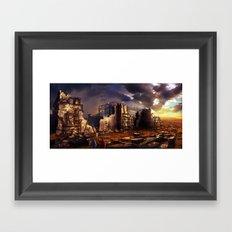 Building up Jerusalem Framed Art Print