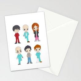 MiniPolseres 1a temporada Stationery Cards