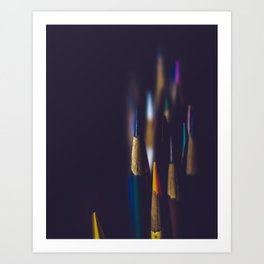 Points And Colors Art Print