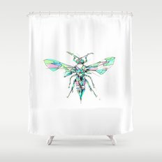 Hornet Shower Curtain