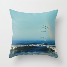 I'll Follow Throw Pillow