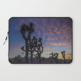 Sunset in Joshua Tree National Park Laptop Sleeve