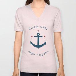 Sailor before Captain Unisex V-Neck