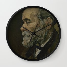 Portrait of an Old Man Wall Clock