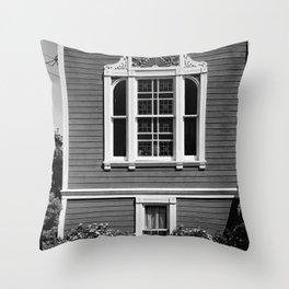 1051 HARRISON STREET, FRONT WINDOW Throw Pillow
