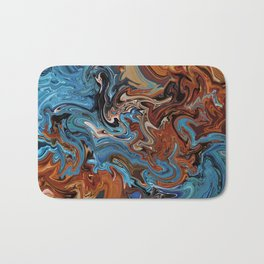 Slow Burn Bath Mat