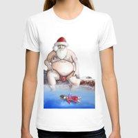 santa T-shirts featuring Santa by Matthew Lake