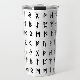Nordic Runes Travel Mug