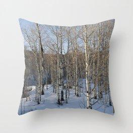 Colorado Tress Throw Pillow