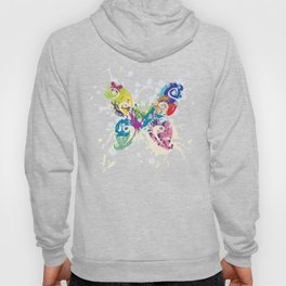 Abstract Flutterby Hoody