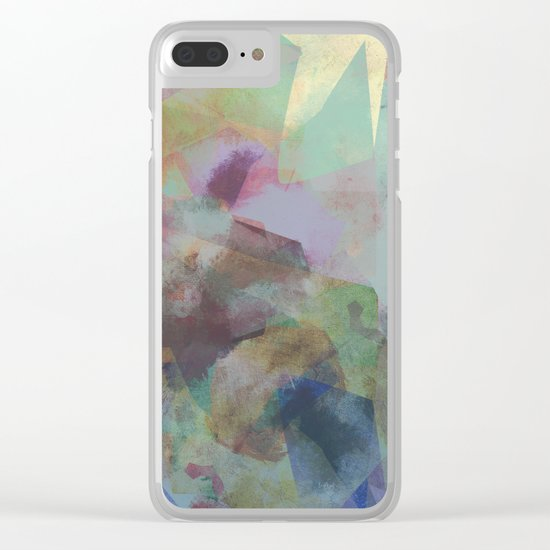 Camouflage XV Clear iPhone Case