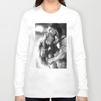 native american Long Sleeve T-shirts featuring Native American  by Thubakabra
