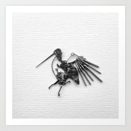 Rad's Birds Art Print