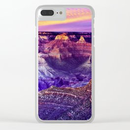 Grand Canyon - Magic Moment Clear iPhone Case